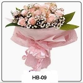 HB09 Bunga Buket Perkawinan