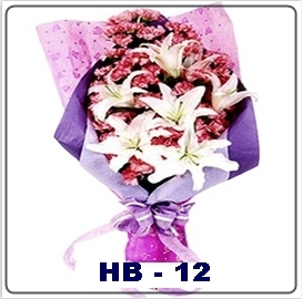 HB12 Bunga Tangan Mawar Untuk Kekasih